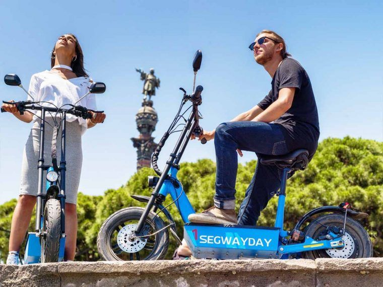 barcelona_electric_scooter_montjuic
