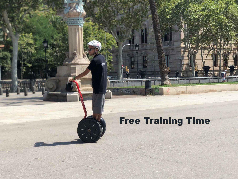 Segway_free-training_time