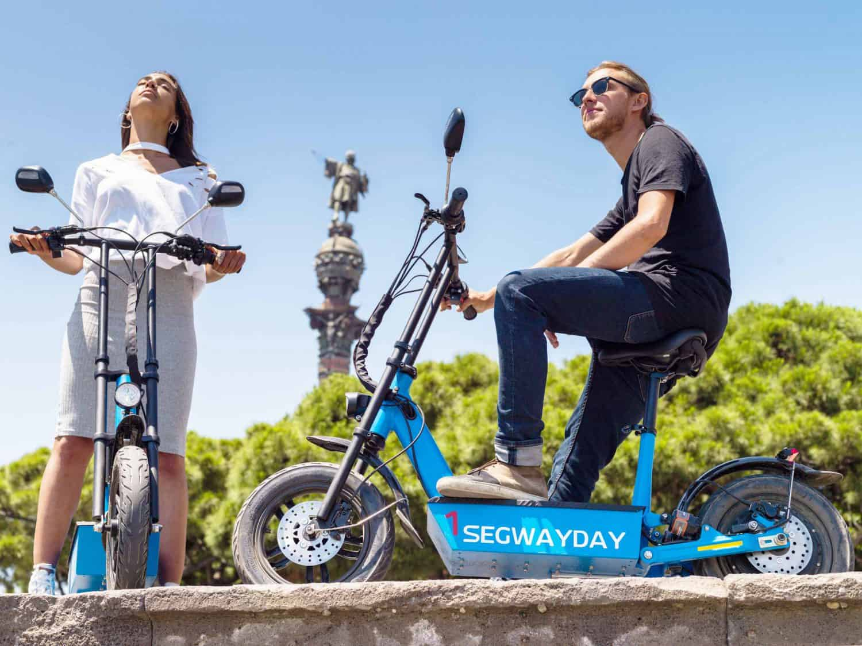 Escooter-tour-montjuic-barcelona